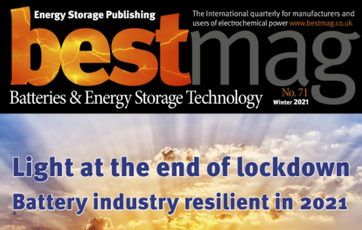 Zinc Batteries featured in B.E.S.T. Mag as the EU makes € 7M bet on Zinc